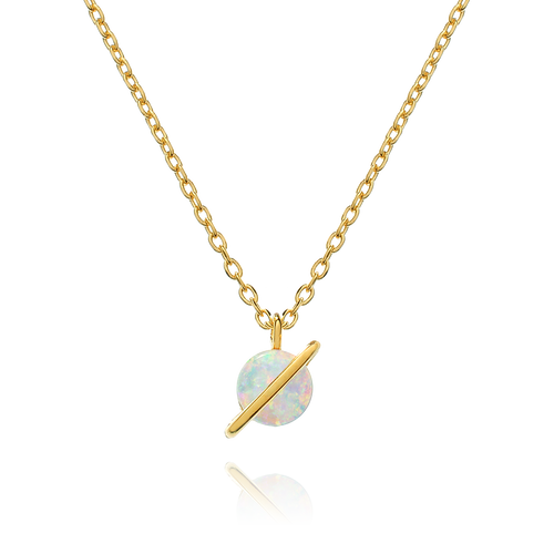 Odessa Opal Necklace - gold