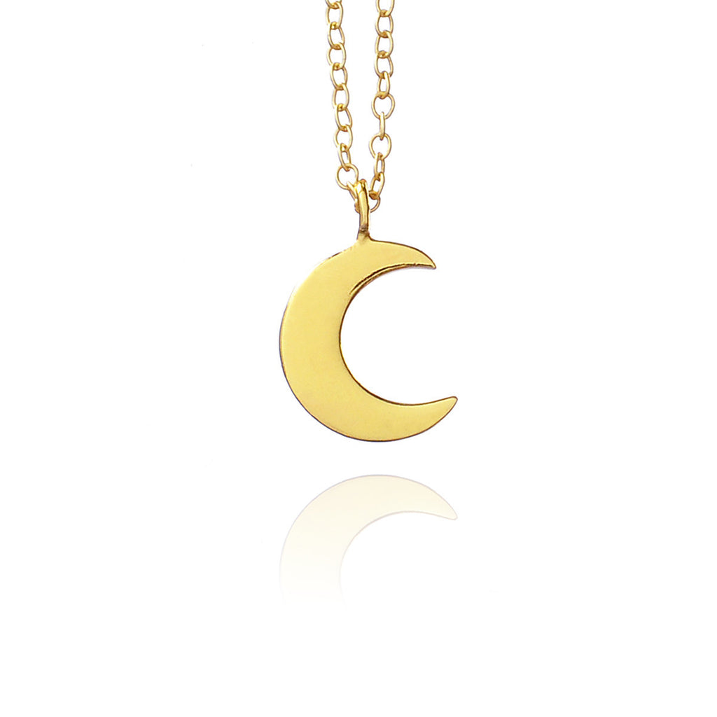 Mini moon chain - Gold