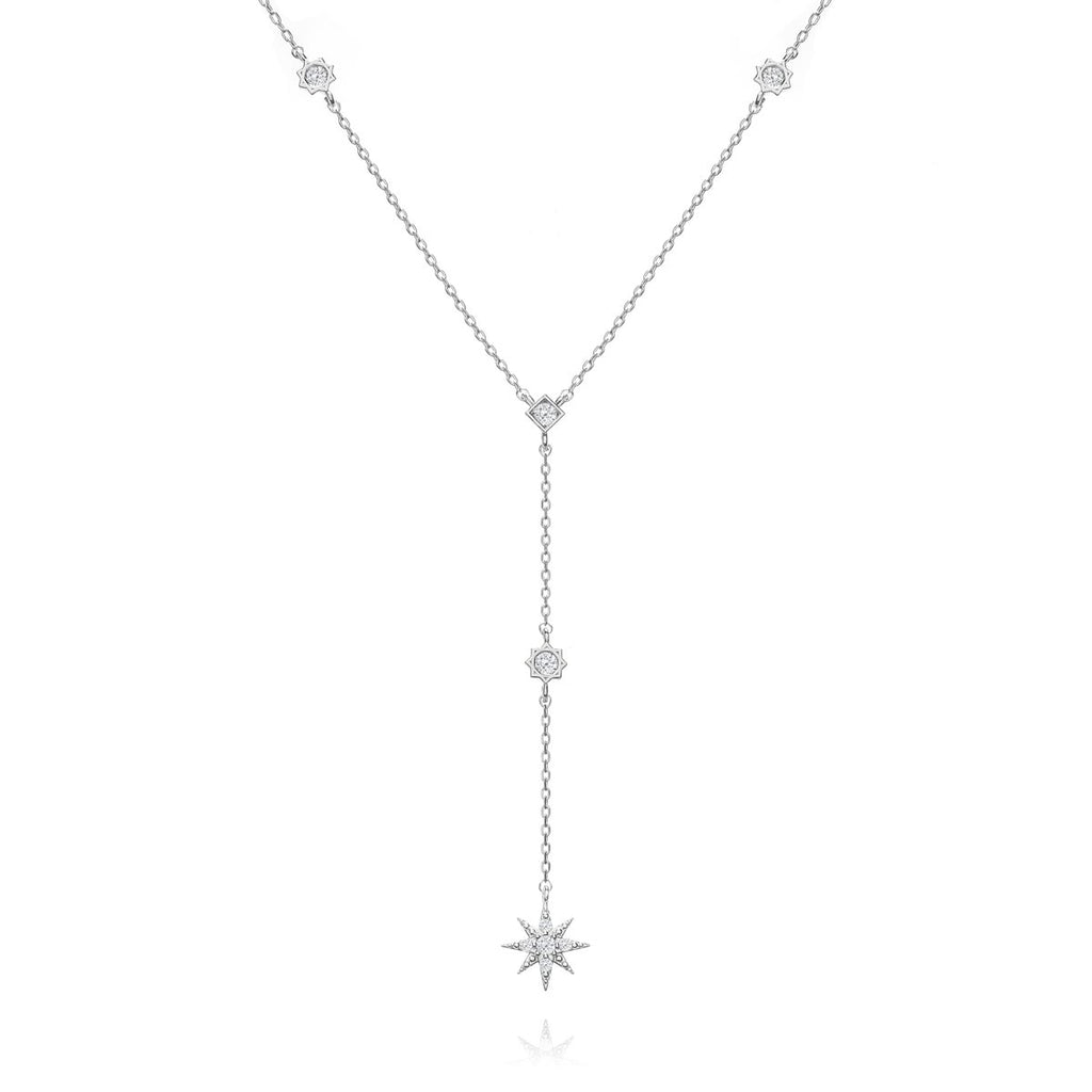 Flare Chain Necklace - silver