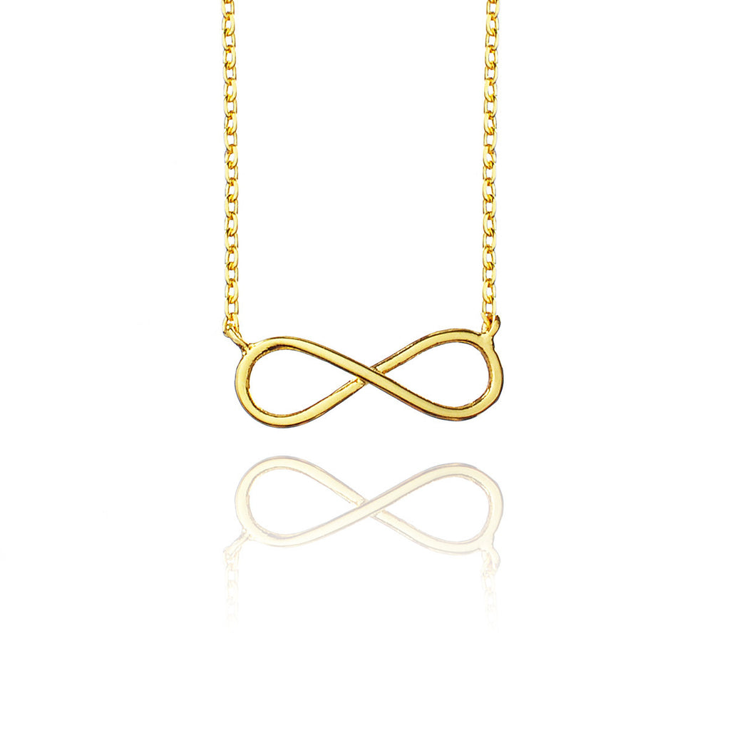 Fine Infinity Necklace - Gold