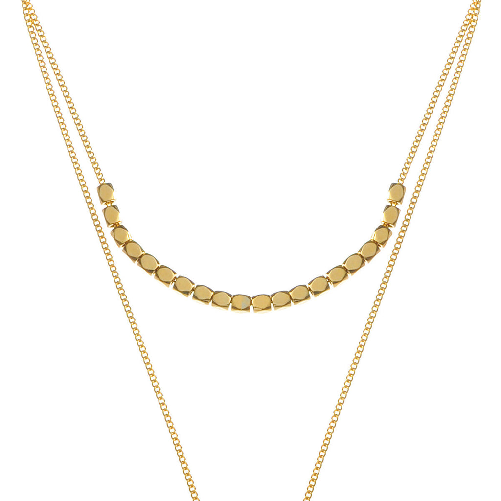 Tiffany Layered Necklace 1 - gold