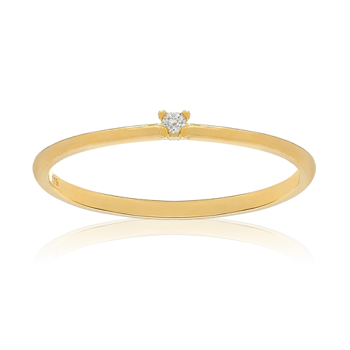 Solitaire Ring - Gold
