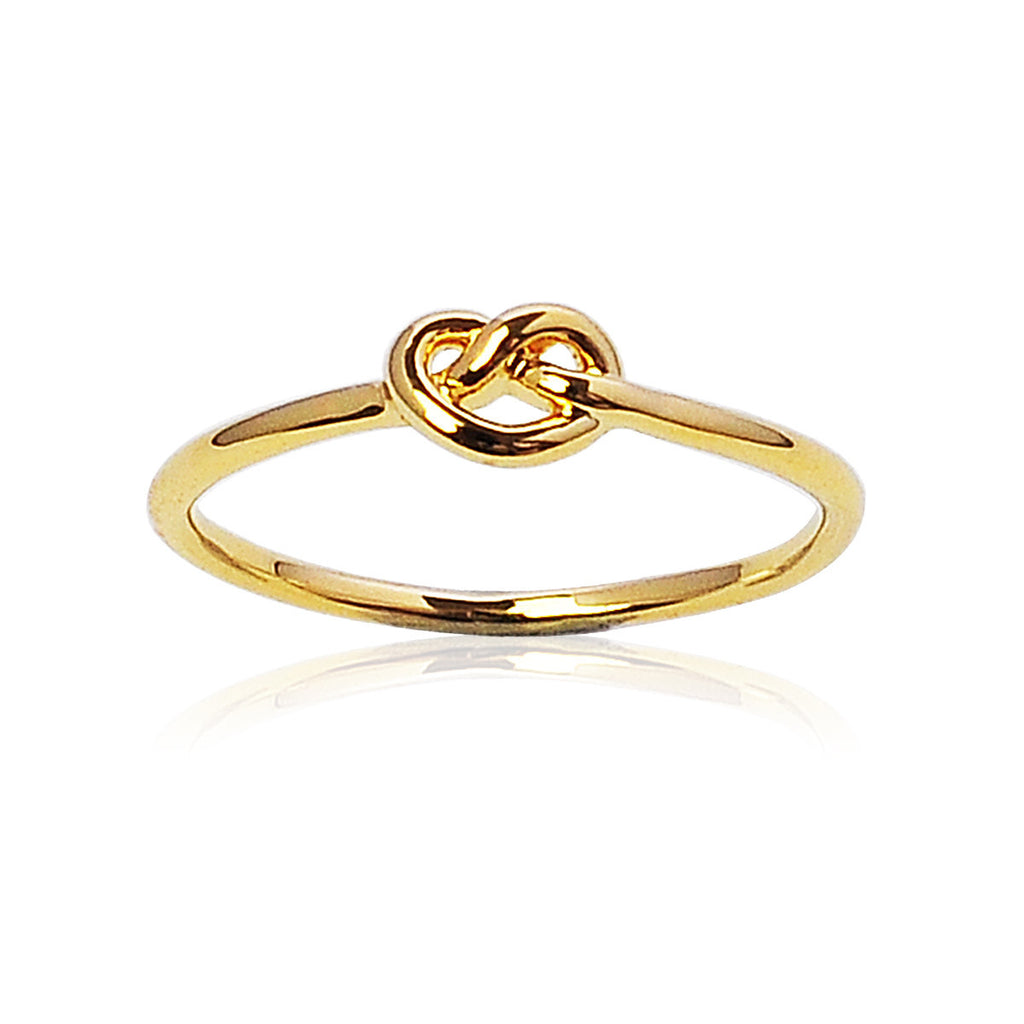 Love knot ring - Gold