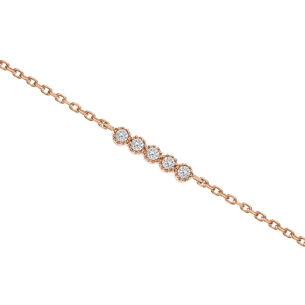 Vive Gemstone Bracelet - rose gold