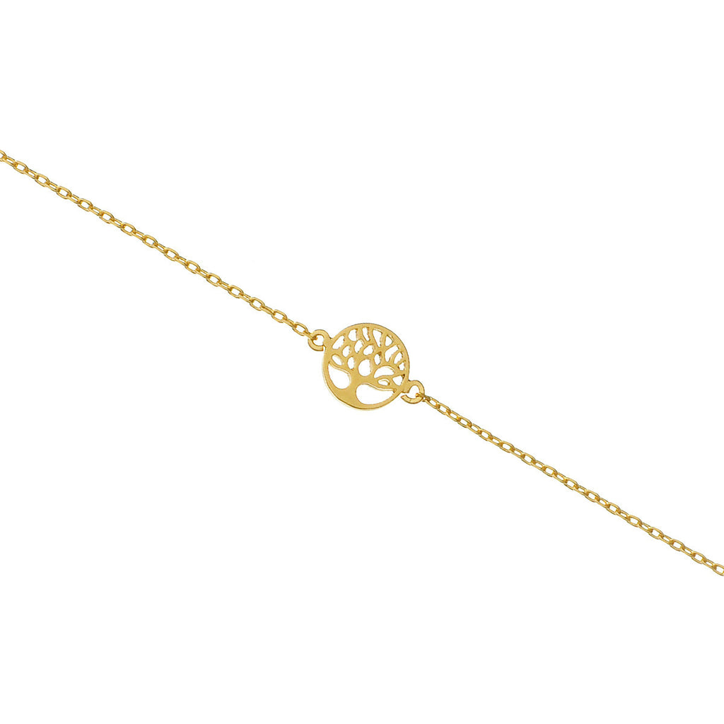 Mini Tree of Life bracelet - gold