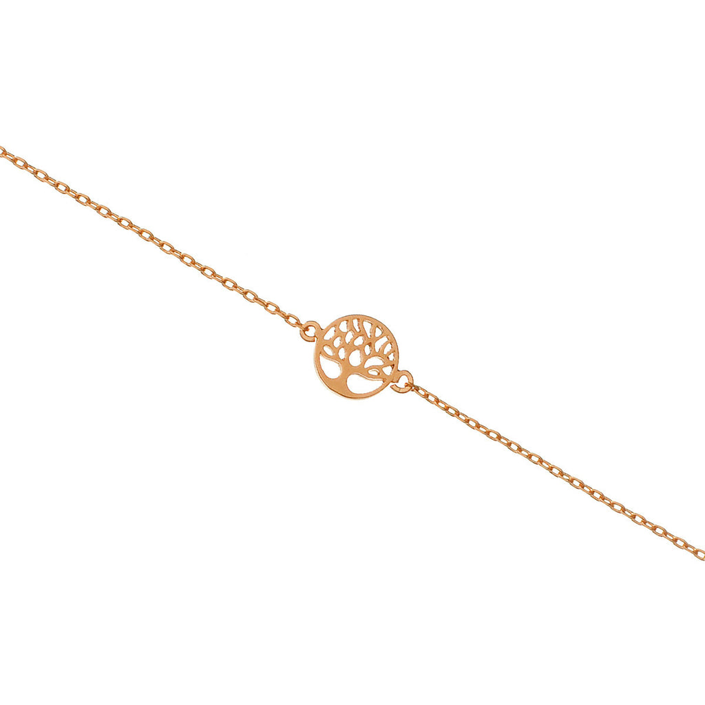 Mini Tree of Life bracelet - rose gold