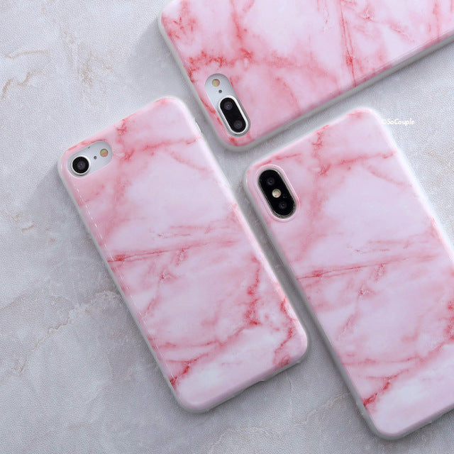 Pink Granite - Marble iPhone Case Cover