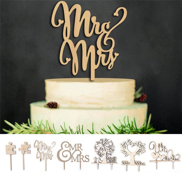 Wedding Cake Topper | Multiple Designs Available