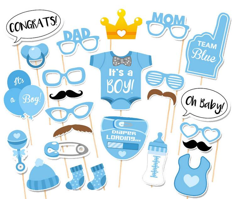 "25 Piece Prince Charming ""It's a BOY"" Photo Prop Set"
