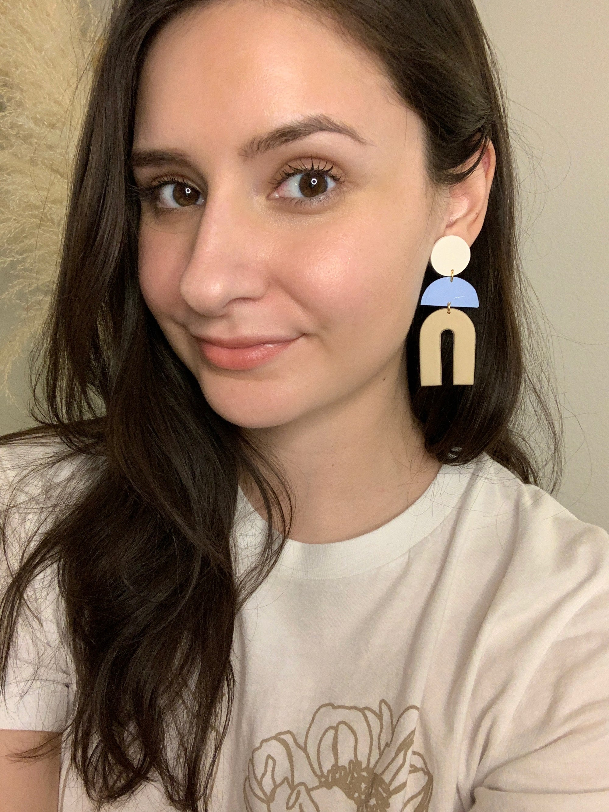 polymerclay earrings | turquoisecollective.com