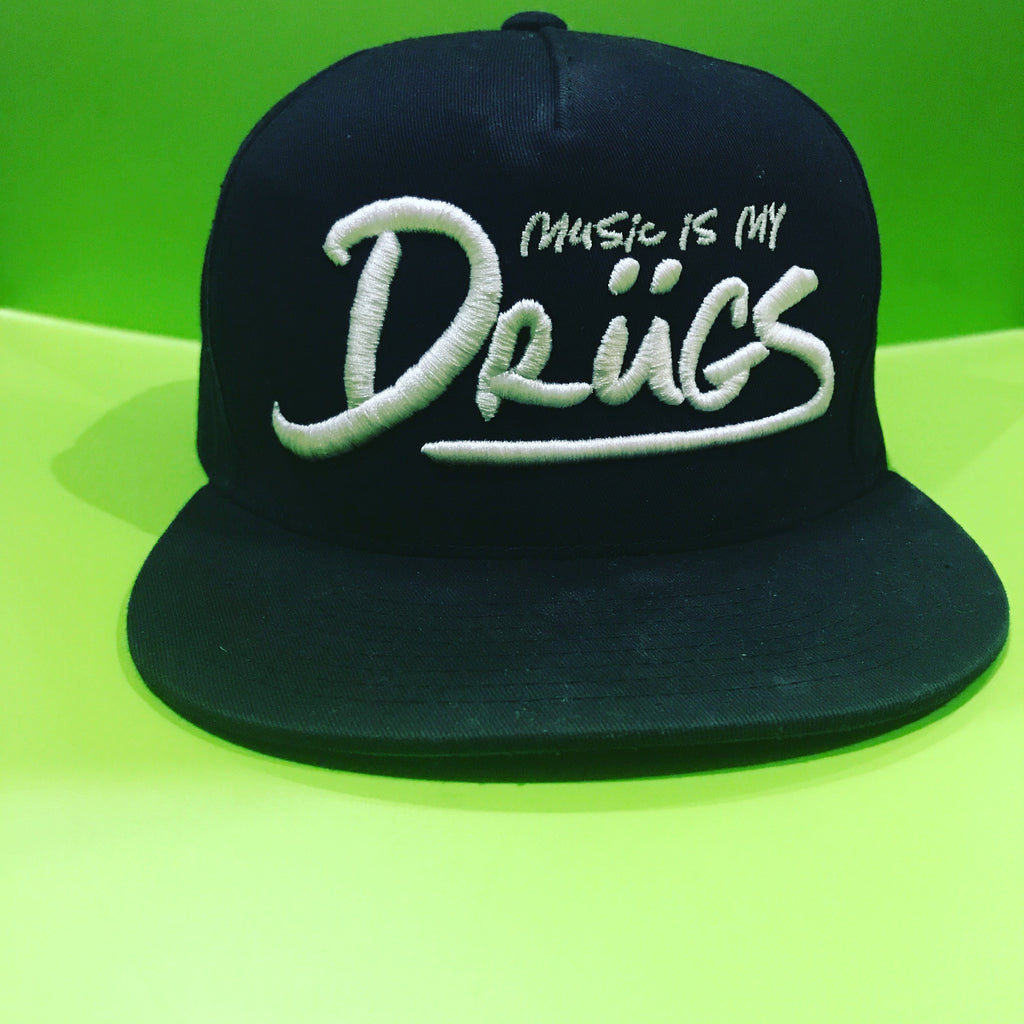 Music is my drugs SnapBack