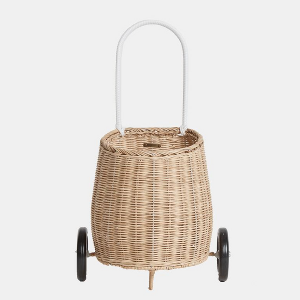 Rattan Doll Luggy Straw Color