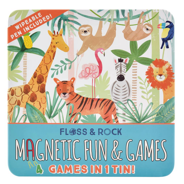 Floss and Rock Jungle Magnetic Fun