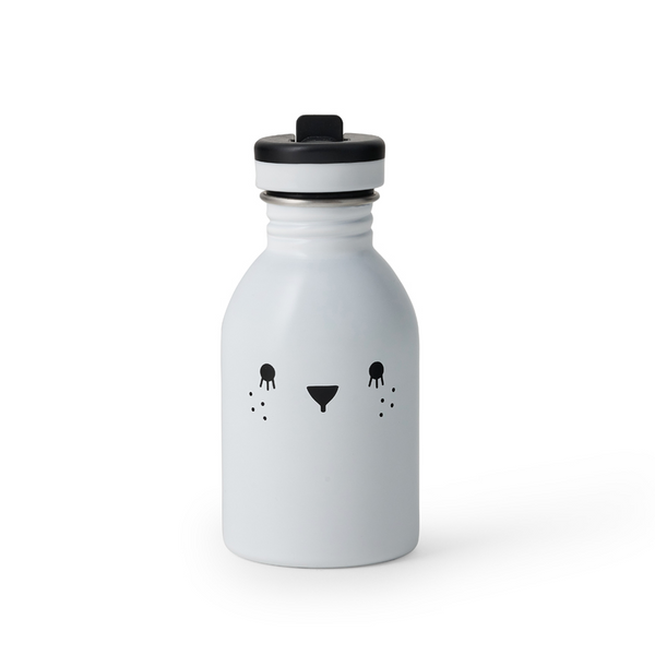 Stainless Steel Water Bottle  - White