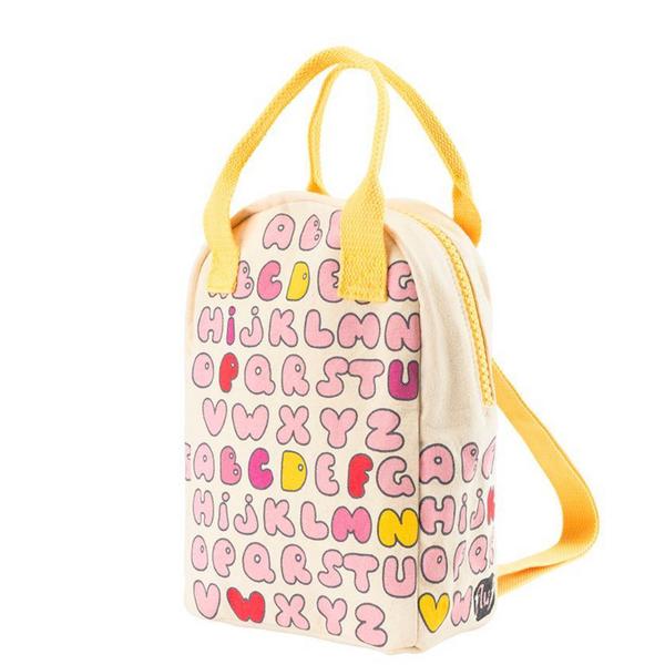 Bubble Letters Lunch Bag & Backpack