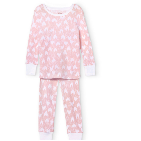 Hearts Cotton PJs