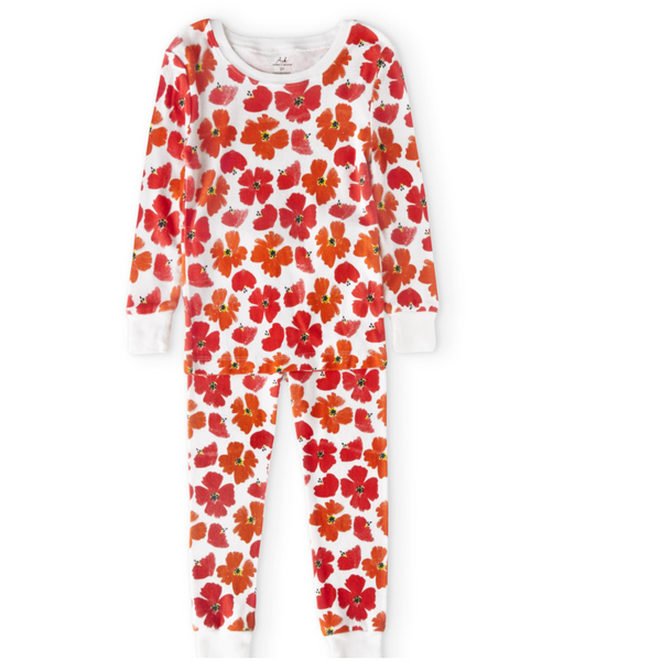 Poppies Cotton PJs