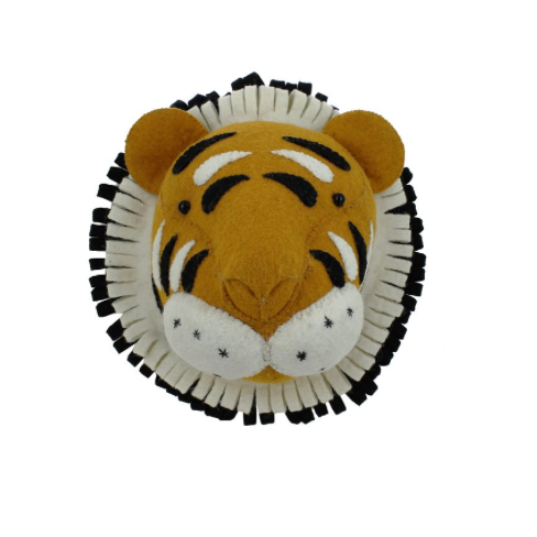 Fiona Walker Mini Tiger Head