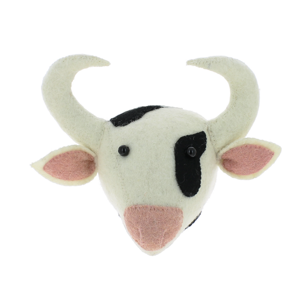 Fiona Walker Mini Cow Head