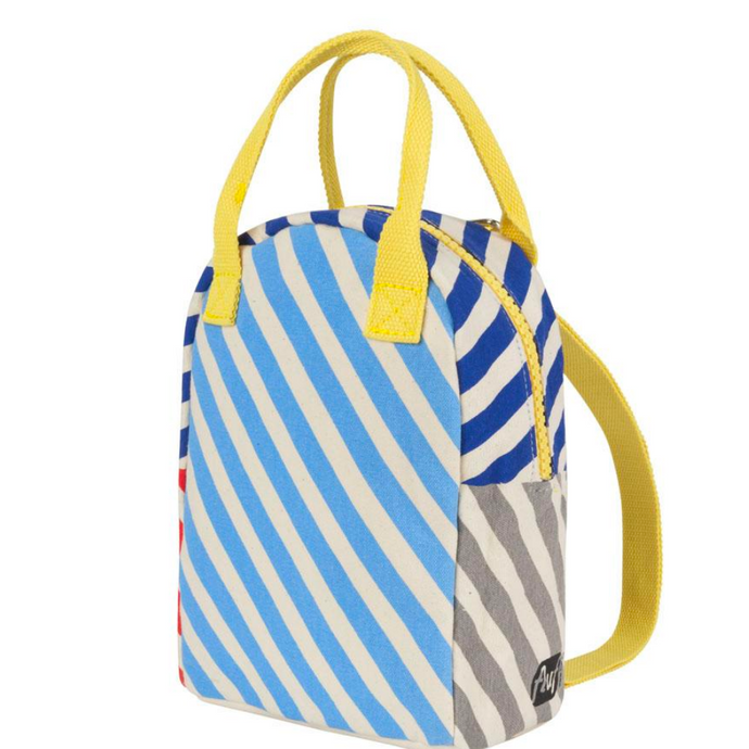 Fluf Stripes Lunch Bag & Backpack