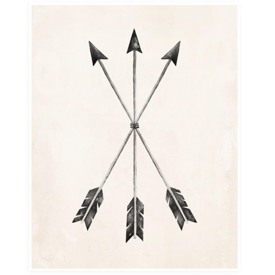 Rylee + Cru Arrows Print