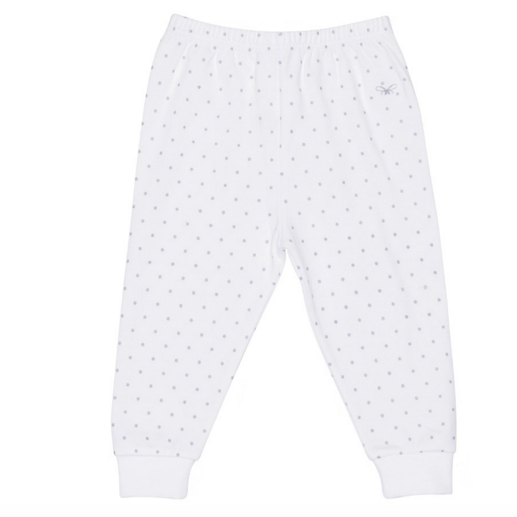 Pima Silver Dot Pants