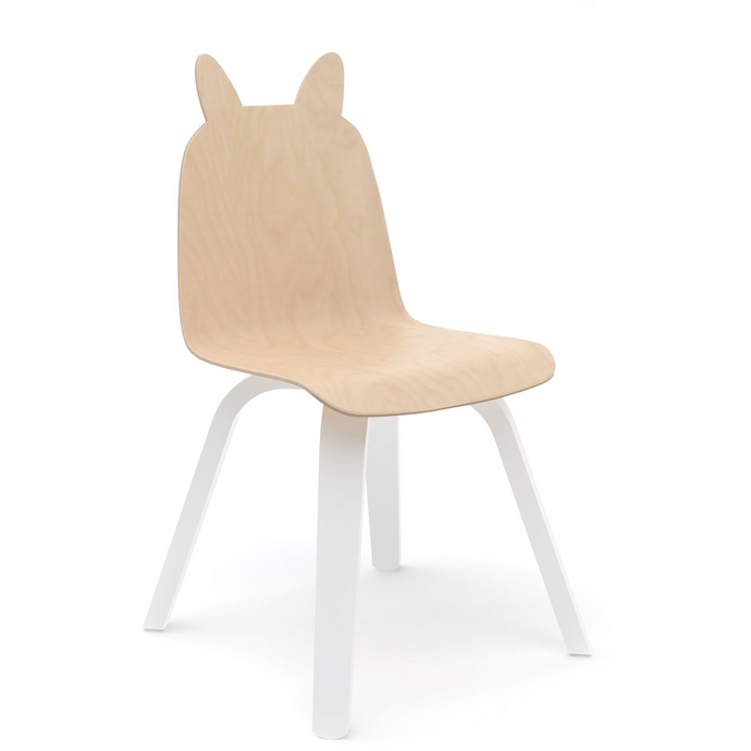 Non-Toxic Birch Bunny Chairs (Set of 2)