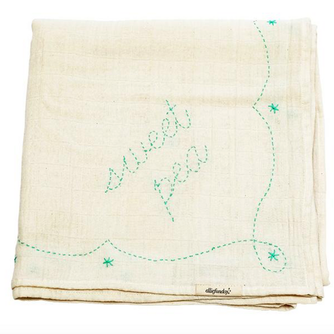 Ellie Fun Day Endearment Swaddle - Sweet Pea