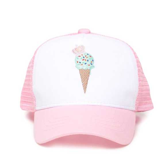 Little Crowns NYC Ice Cream Sun Hat