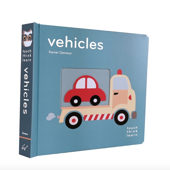 Touch Think Learn Vehicles Book