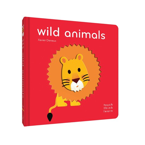 Touch Think Learn Wild Animals Book