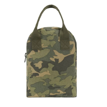 Fluf Camo Lunch Bag & Backpack