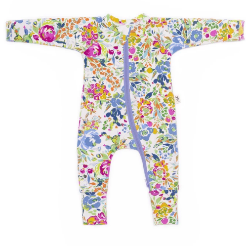 Nash & Cally Watercolor Floral Simplesuit