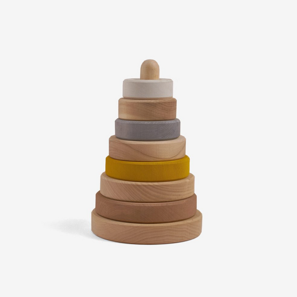 Hardwood Stacking Tower - Sand