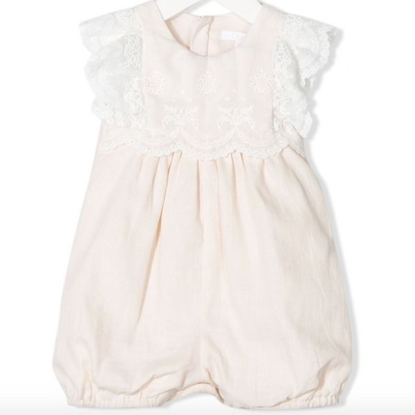Chloe Kids Lace Trim Bodysuit