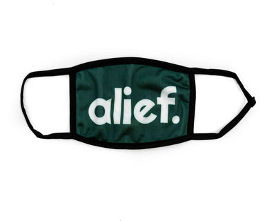 Bold Alief Facemask - FOREST GREEN