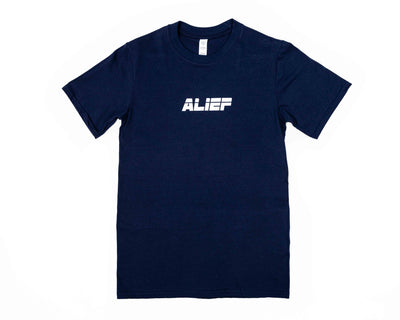 Alief Athletic Tee - Navy Blue