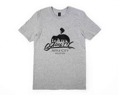 OG Alief Logo Tee - Grey