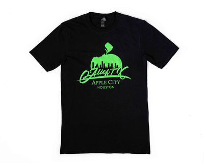 OG Alief Logo Tee - Black Green Ink
