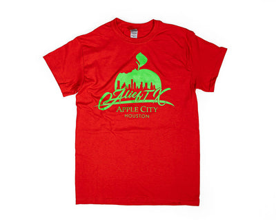OG Alief Logo Tee - Green Ink