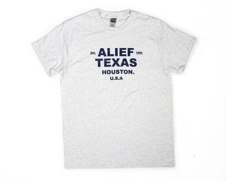 Est. Alief Texas Tee - Black Ink