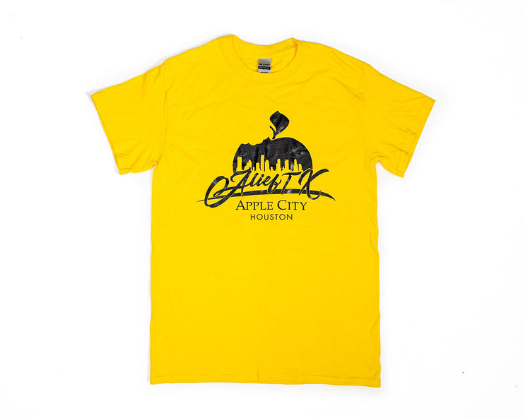 OG Alief Logo Tee - Yellow