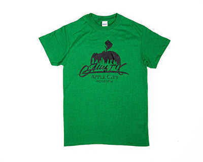 OG Alief Logo Tee - Green