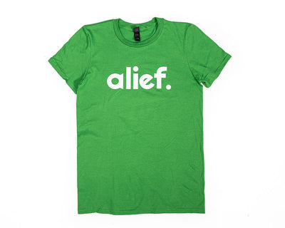 Bold Alief Logo Tee - Green