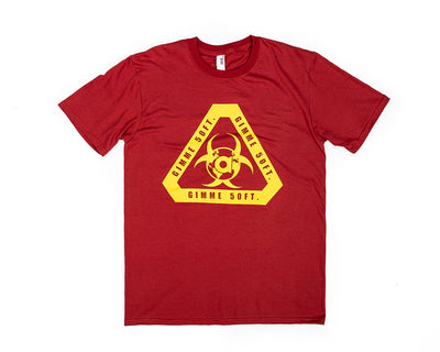 Gimme 50FT Tee - Dark Red