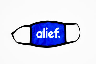 Bold Alief Facemask - Blue