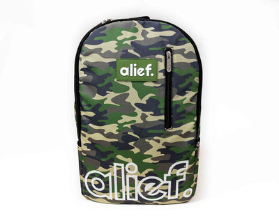 (Pre Order) Alief Camouflage Backpack - GREEN