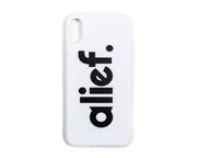 Alief iPhone Case - White