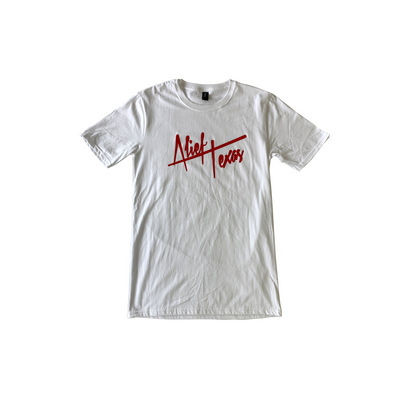 Alief Texas Signature Tee - Red Ink