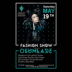 A Line Called K - Fashion Show May 19th at The Great Northern